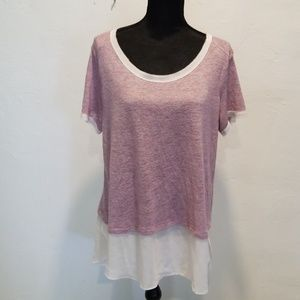 💥NWT <Bobeau> Sweater Tee💥